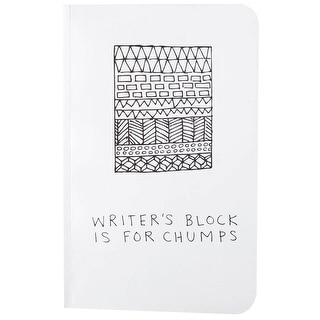 Writers Block Lined Notebook