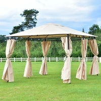 Costway Outdoor 10 X13 Gazebo Canopy Shelter Patio Party Tent