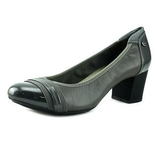 Anne Klein Sport Guardian Women  Round Toe Leather Gray Heels