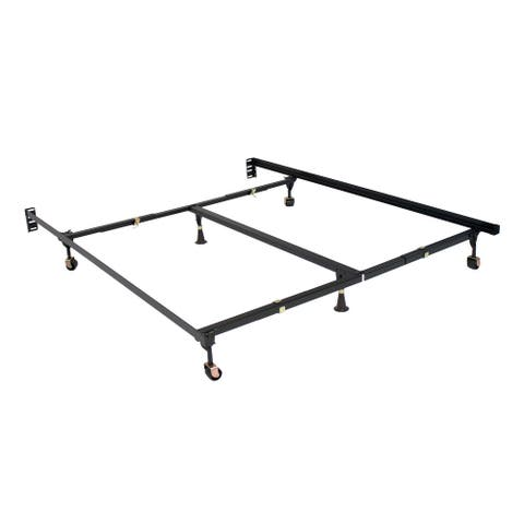 Premium Clamp Style Bed Frame All sizes with 6 Legs