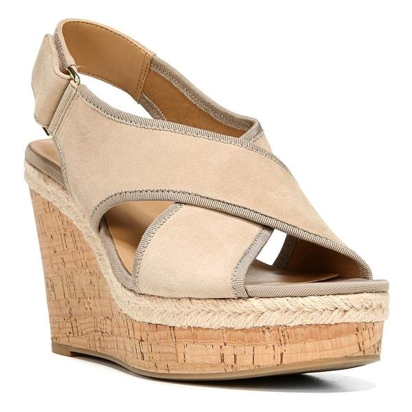 Franco Sarto Womens Taylor Peep Toe Special Occasion Platform Sandals
