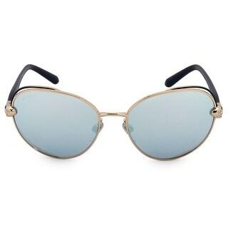 Bvlgari Oval Sunglasses BV6087-B 20206J 57
