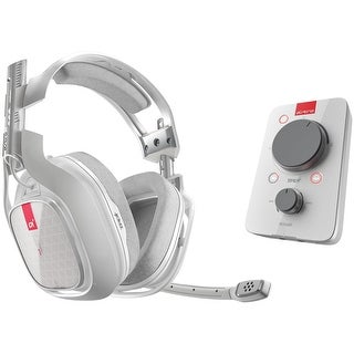 Astro A40 TR Headset + MixAmp Pro TR - Stereo - White - (Refurbished)