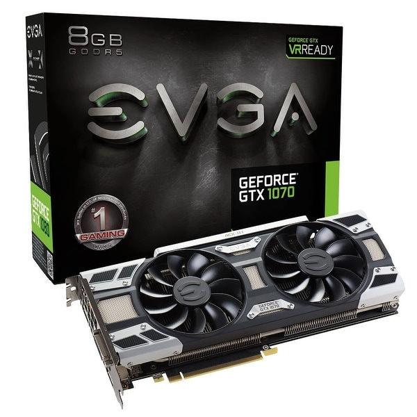 Evga Geforce Gtx 1070 Gaming Acx 3.0 8Gb Gddr5 Led Dx12 Osd Support (Pxoc) Gr