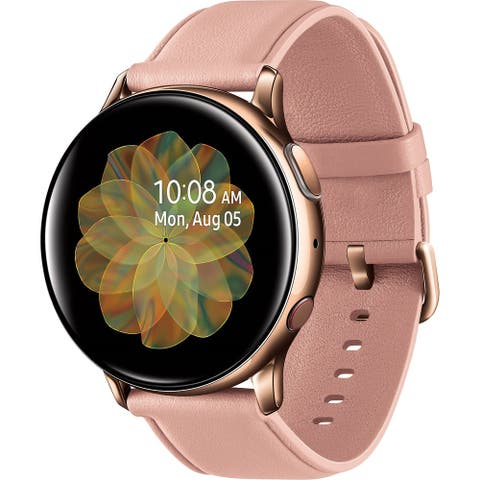 Samsung Galaxy Watch Active2 LTE Smartwatch (Stainless Steel, 40mm, Gold) (Certified Refurbished)