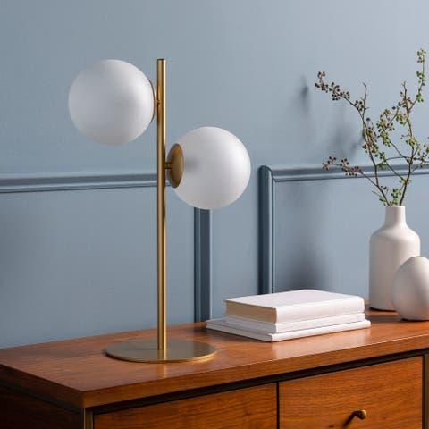 Jacona Mod Double-Sphere 20.5-inch Table Lamp
