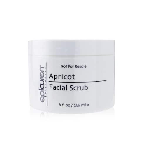 Apricot Facial Scrub - For Dry & Normal Skin Types (Salon Size) - 236Ml/8Oz
