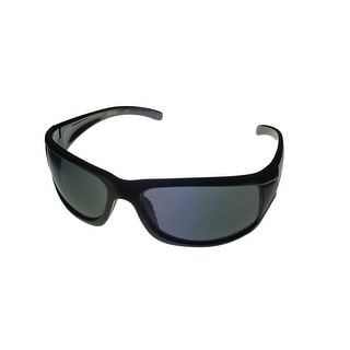 Kenneth Cole Reaction Sunglass Black Rectangle Wrap Gradient Len KC1079 B5 - Medium
