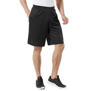 Tesla MBS01 HyperDri Sport Mesh Performance Active Training Shorts - Black