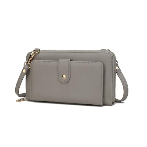 MKF Collection Everly Oversize Wallet Crossbody bag by Mia K.