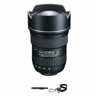 Tokina AT-X 16-28mm f/2.8 Pro FX Lens Bundle