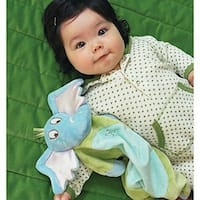Manhattan Toy Dr. Seuss Horton Baby Tactile Snuggle Blankie