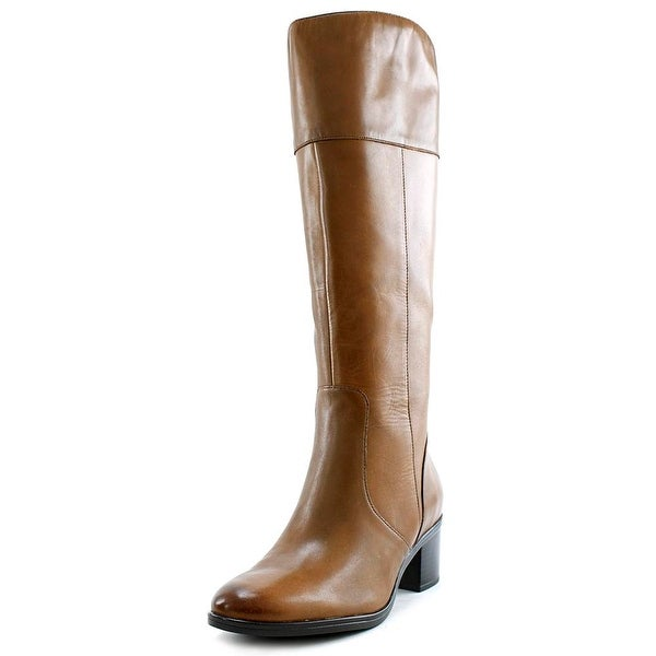 Naturalizer Harbor WW Round Toe Leather Knee High Boot