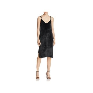 Equipment Femme Womens Slip Dress Silk Blend Cocktail