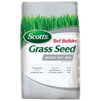 Scotts 18272 Turf Builder Grass Seed Quick Fix Mix, 3 Lbs