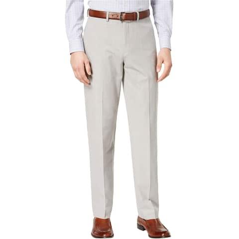 Ryan Seacrest Mens Ultimate Moves Dress Pants Slacks, Grey, 36W x 32L
