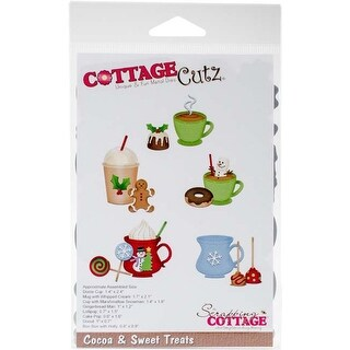 "Cocoa & Sweet Treats 1.4"" To 2.4"" - Cottagecutz Die"