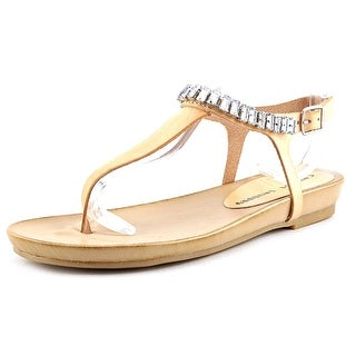 Chinese Laundry Flash Back Open Toe Leather Thong Sandal
