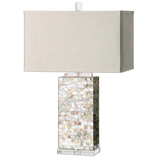 Shop 29 Beige And Brown Decorative Rectangular Hardback Shade Table
