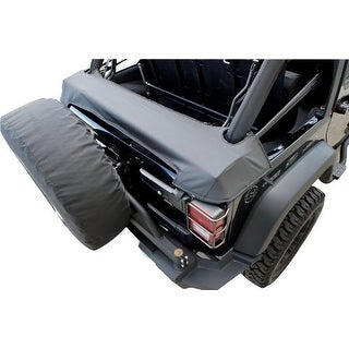 Rampage Jeep 960035 Black Diamond Soft Top Storage Boot - diamond black