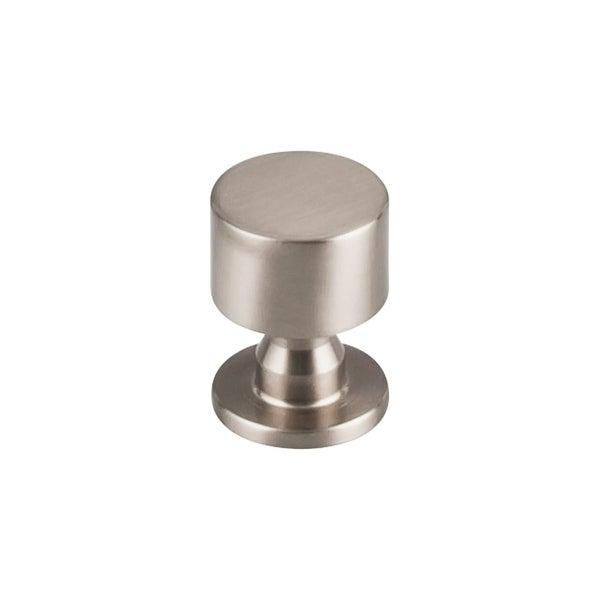 "Top Knobs TK820 Lily 1"" Diameter Mushroom Cabinet Knob from the Serene Series"