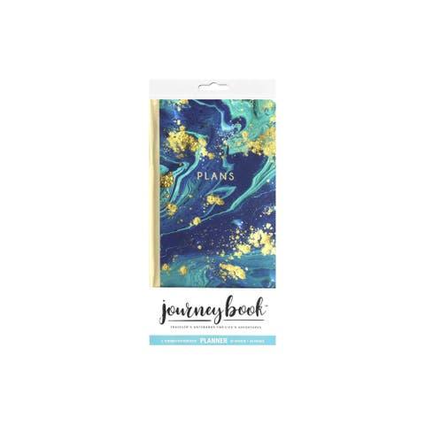 Paper House Life Org Journey Bk Insert Marble Blue