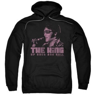Elvis The King Mens Pullover Hoodie