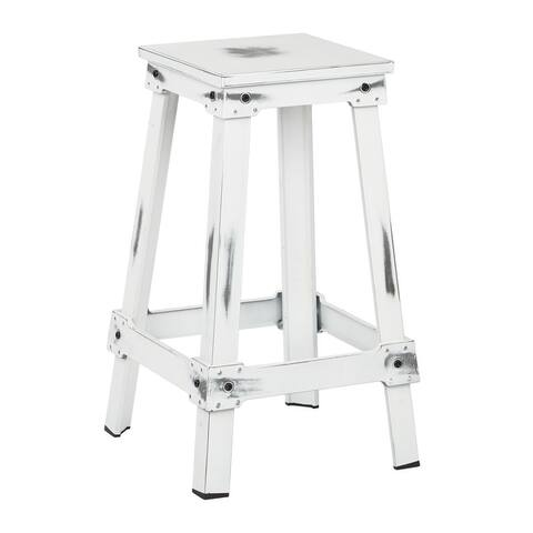"New Castle 26"" Metal Barstool"