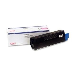 """OKI Type C6 Toner Cartridge - Magenta 43034802 Oki Type C6 Magenta Toner Cartridge - Magenta - LED - 1500 Page - 1 Each"""