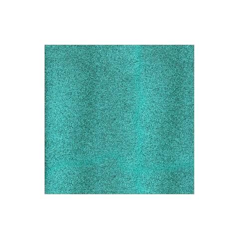 71424 amc cardstock 12x12 glitter aqua