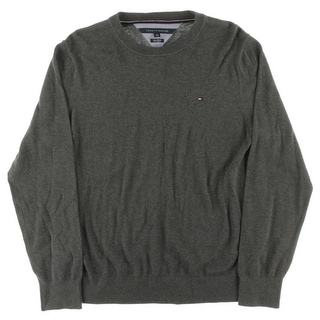 Tommy Hilfiger Mens Pima Cotton Crew Neck Pullover Sweater