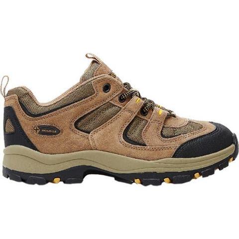 Nevados Men's Boomerang II Low Hiking Shoe Brown/Black/Yellow Suede