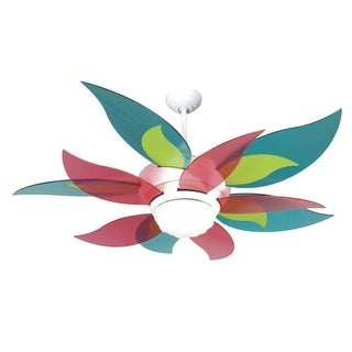 """Craftmade K10613 Bloom 52"""" 10 Blade Energy Star Indoor Ceiling Fan - Blades, Remote and Light Kit Included"""