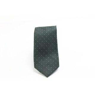 Black Brown 9936 NEW Green Polka Dot Men's Classic Neck Tie Silk
