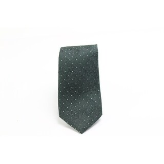Black Brown 9956 NEW Green Polka Dot Men's Classic Neck Tie Silk