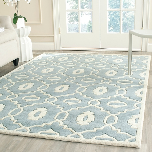 Safavieh Handmade Chatham Betsey Modern Wool Rug. Opens flyout.