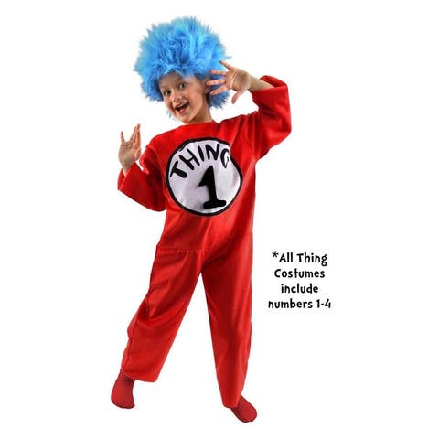 Dr. Seuss Thing Costume Child - Red
