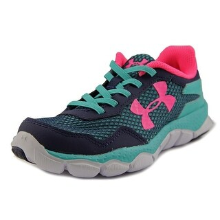 Under Armour UA GPS ENGAGE II BL AL Youth Round Toe Synthetic Blue Tennis Shoe