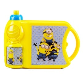 Despicable Me Minions Sandwich Box and Bottle Combo