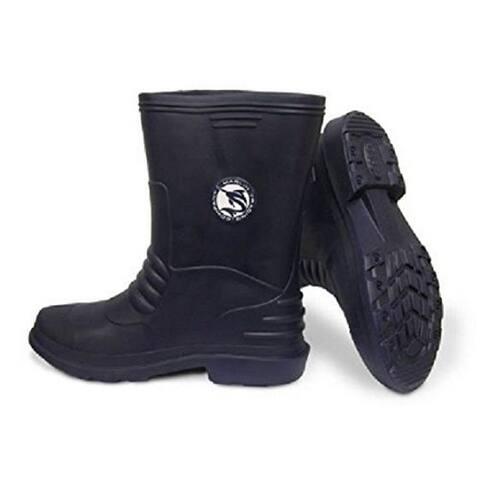 Marlin Male Lightweight Deck Boots, Navy, 8
