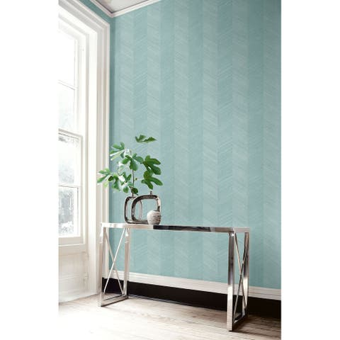 Seabrook Designs Chevy Hemp Embossed Vinyl Unpasted Wallpaper