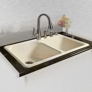Buy Cast Iron Kitchen Sinks Online At Overstock Com Our