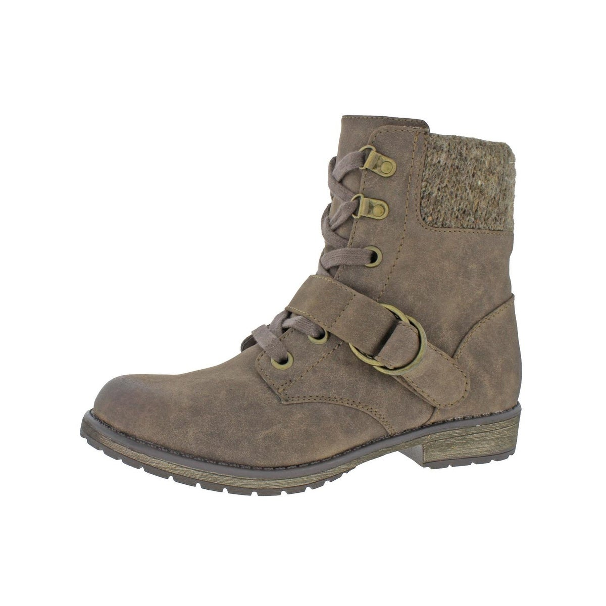 Shop Roxy Womens Davie Ankle Boots Lace