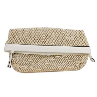 Kenneth Cole Reaction Mesh Is More Clutch    Synthetic  Clutch - Beige