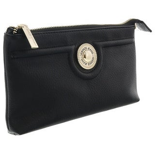 Versace EE3VRBPL3 Black Wallet on Chain - 7.5-4.5-1