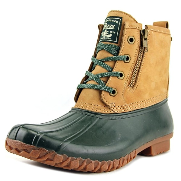 GH Bass & Co Danielle Women Round Toe Synthetic Brown Winter Boot
