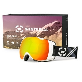 Winterial Globe Ski / Snowboard / Snowmobile Goggles All Mountain / UV Protection