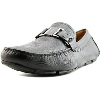 Salvatore Ferragamo Sardegna 2E Square Toe Leather Loafer