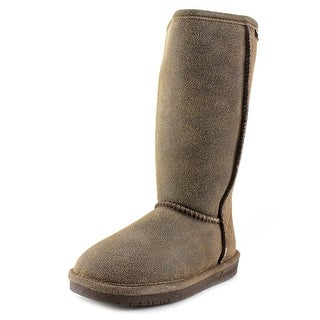 Bearpaw Emma Tall Women  Round Toe Suede Brown Winter Boot