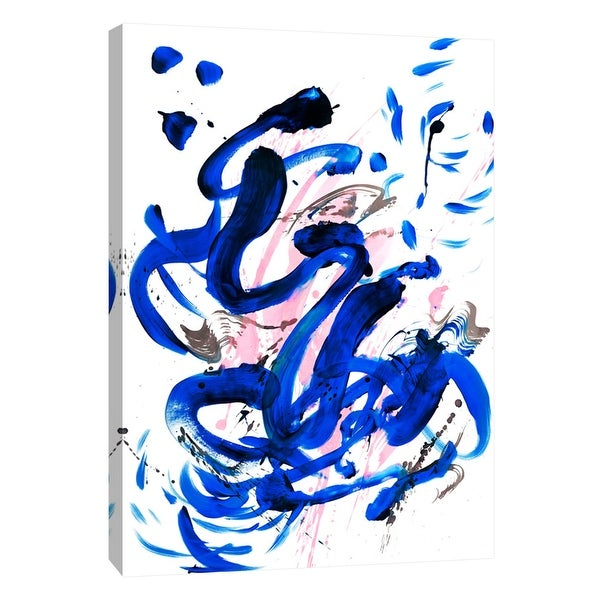 """PTM Images 9-108864 PTM Canvas Collection 10"""" x 8"""" - """"Flow 7"""" Giclee Abstract Art Print on Canvas"""